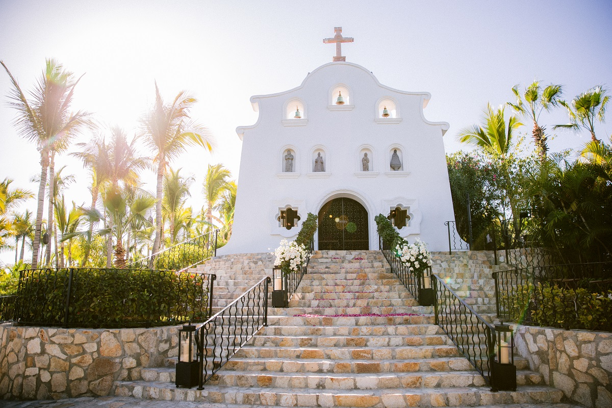 weddings at the chapel one and only palmilla resort