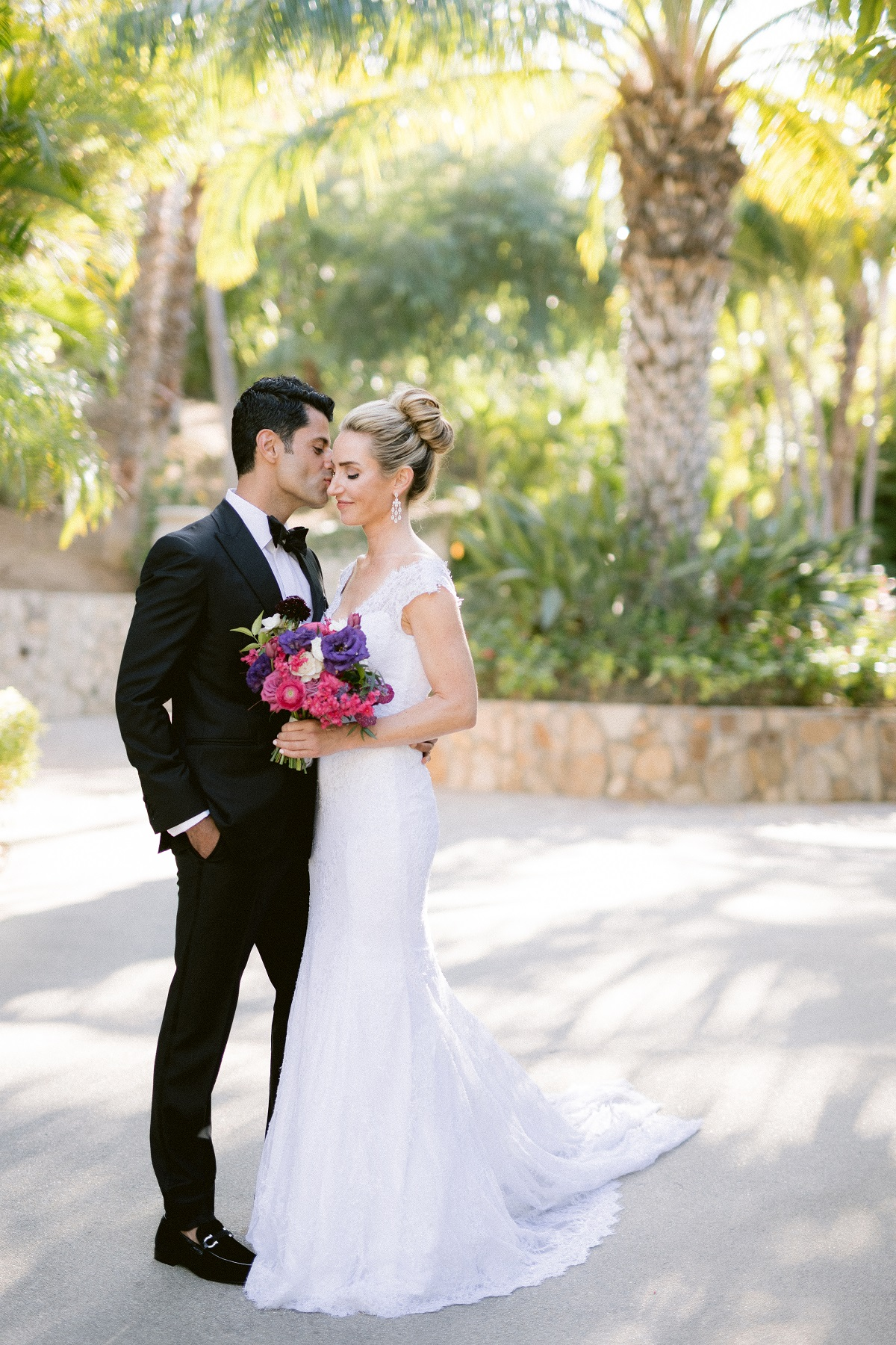Bride and Groom portraits Palmilla Resort