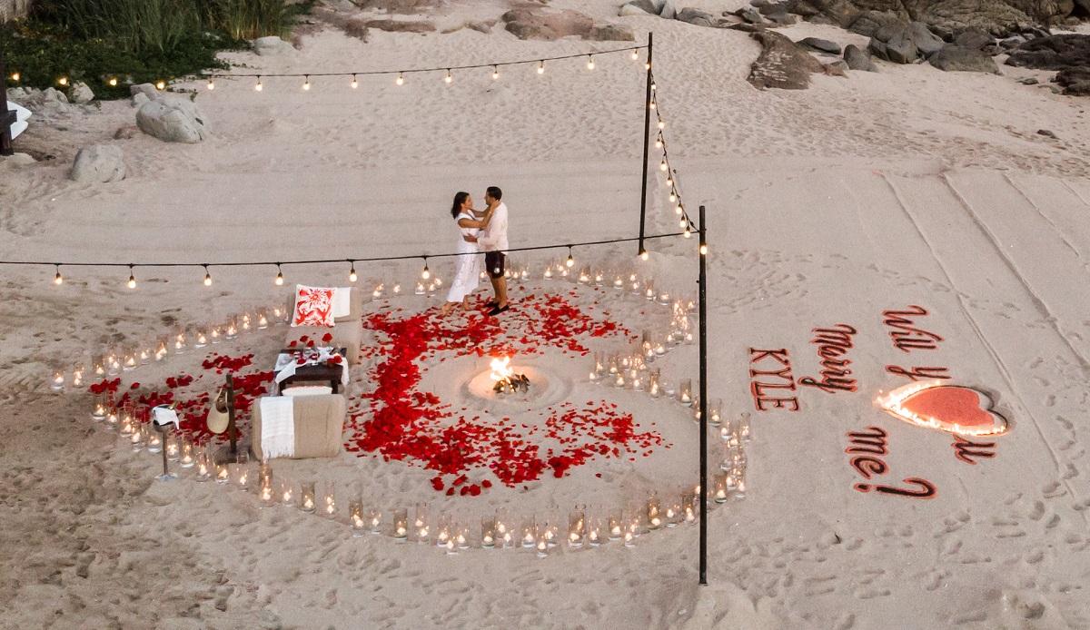 wedding proposal cabo san lucas