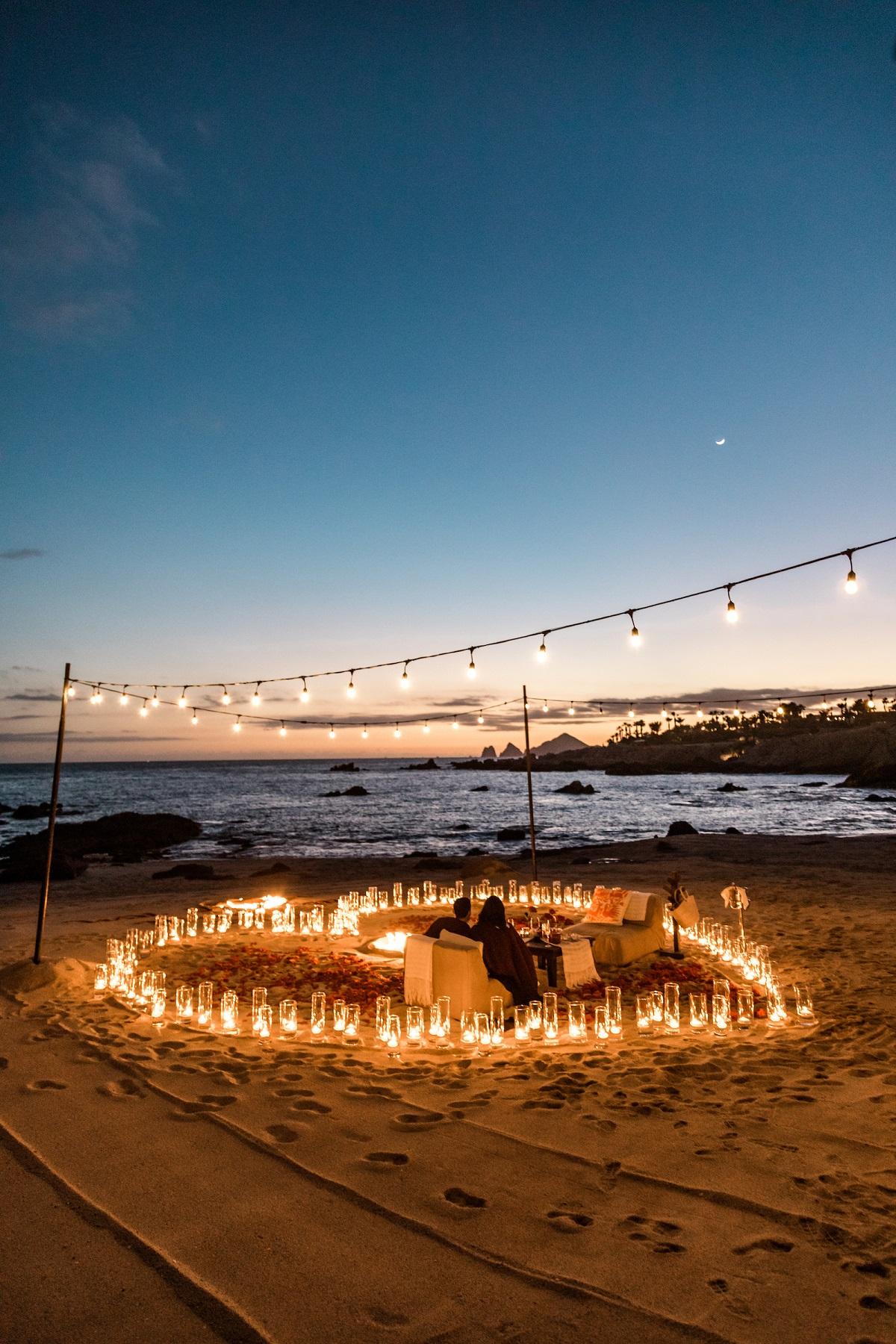 beach wedding proposals
