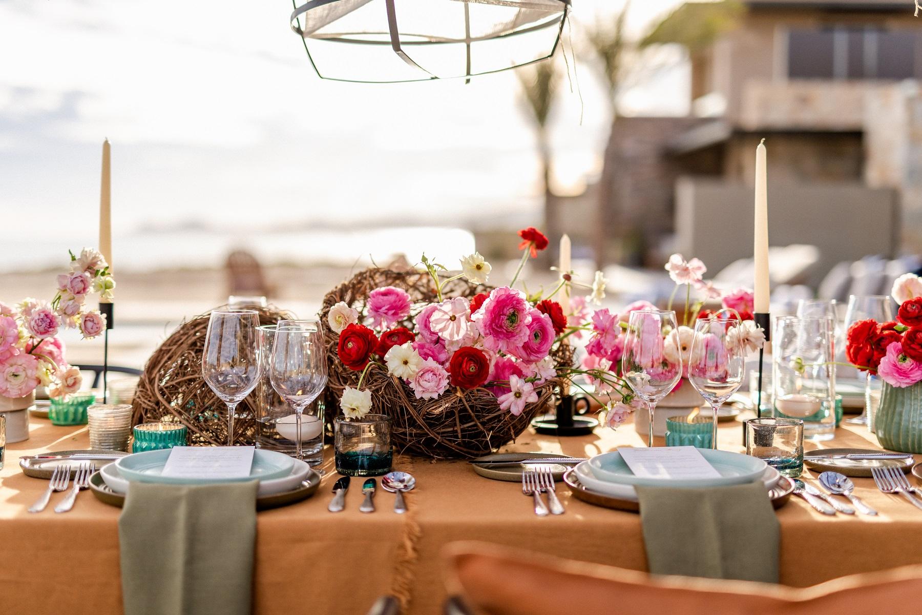 Ranunculus Centerpieces Weddings