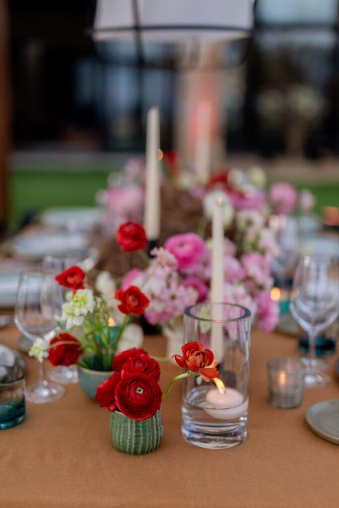 red flowers for weddings elena damy