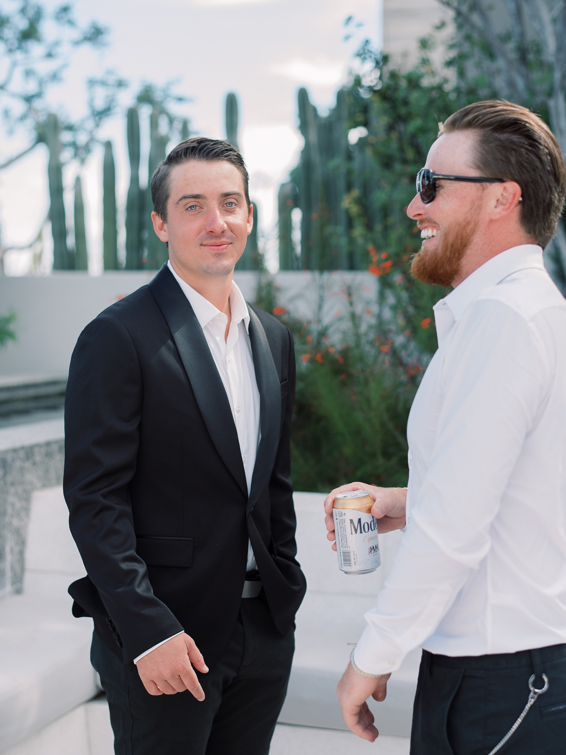 groom and best man solaz resort