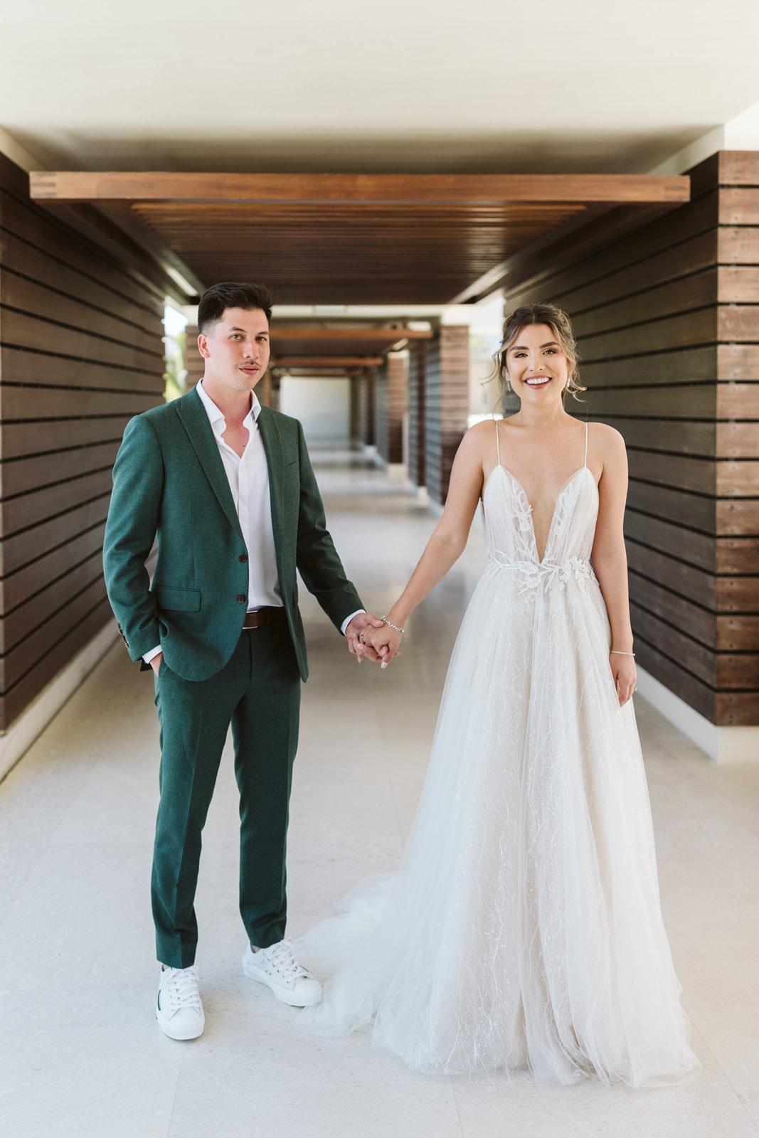 First Look Cabo Wedding Planner Elena Damy