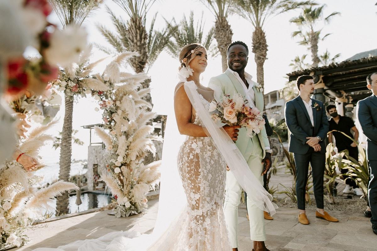 beach wedding esperanza resort cabo mexico