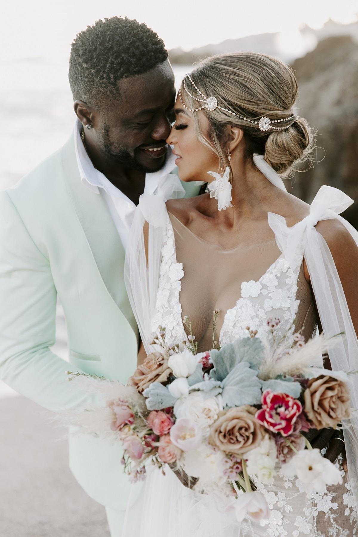 boho bride mexico wedding esperanza resort